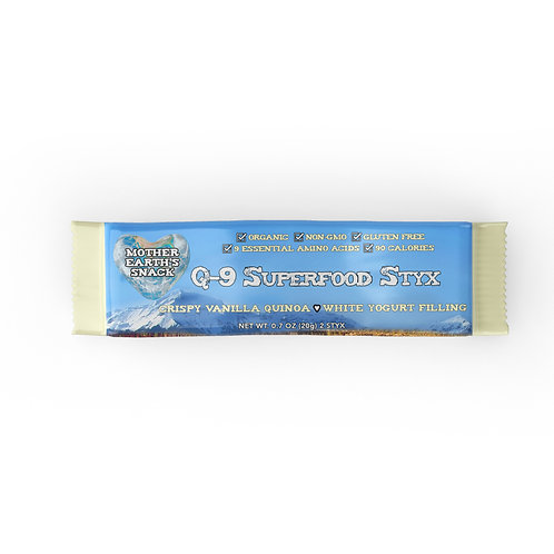 Q-9 SuperFood Vanilla Styx (12 in a pack)