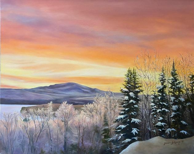 February - February Sunrise