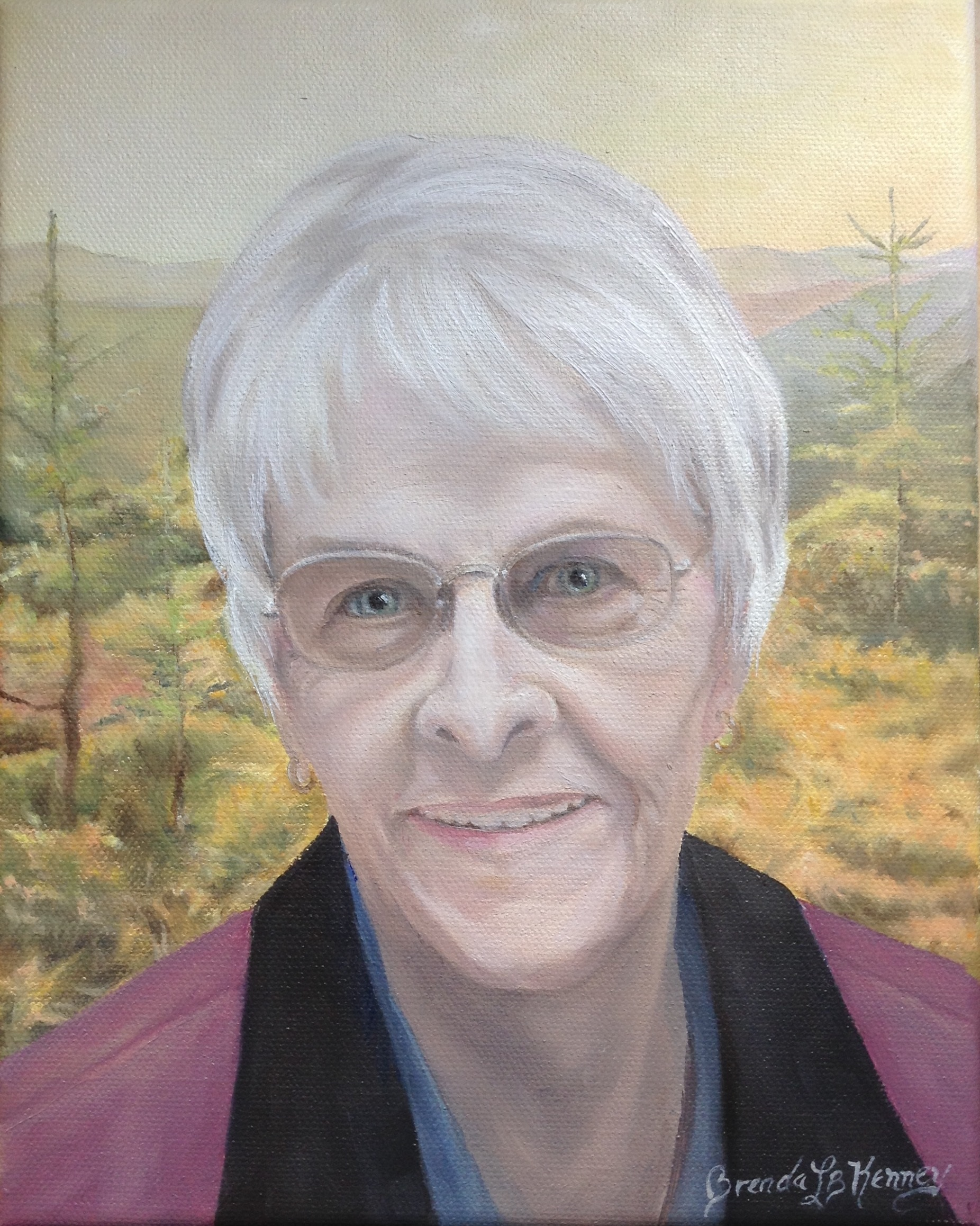 Portrait of Mary Young