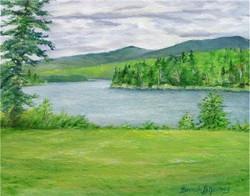 Across First Lake