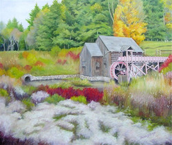 The Old Water Wheel