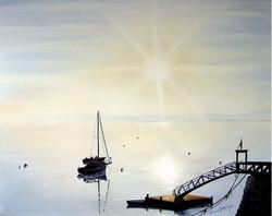 Sunrise Over Bar Harbor