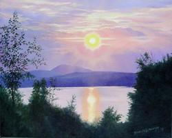 Sunset Over Back Lake