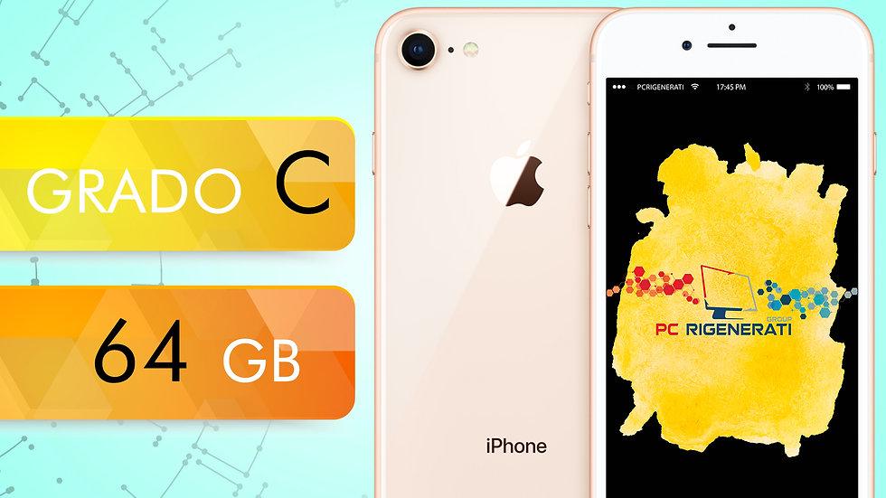 iPhone 8 64 GOLD Grado:C