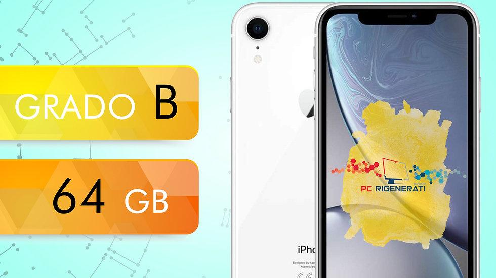 iPhone XR 64 BIANCO Grado:B