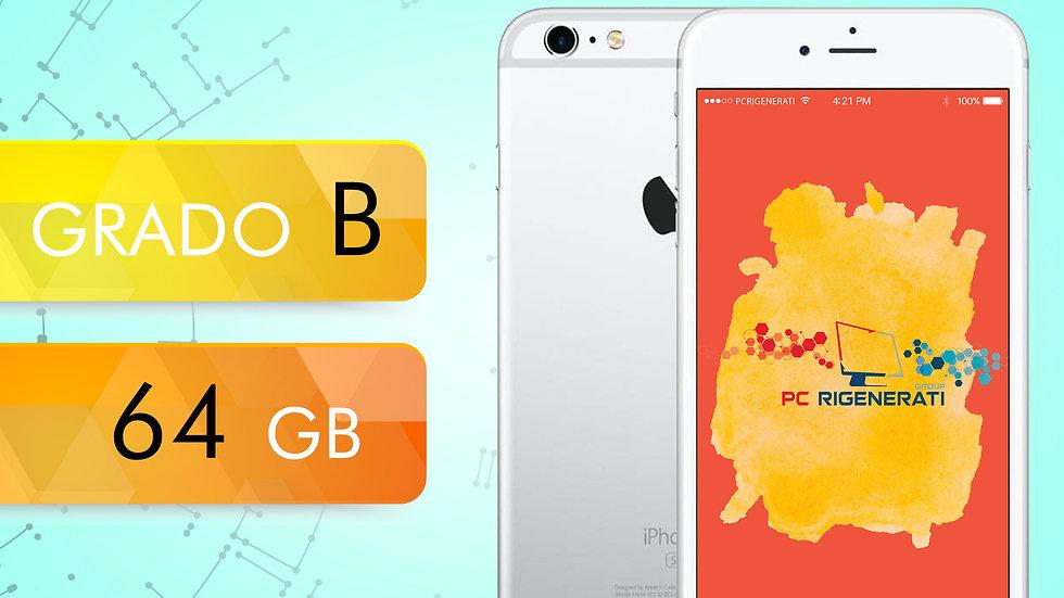 iPhone 6S 64 Silver Grado:B