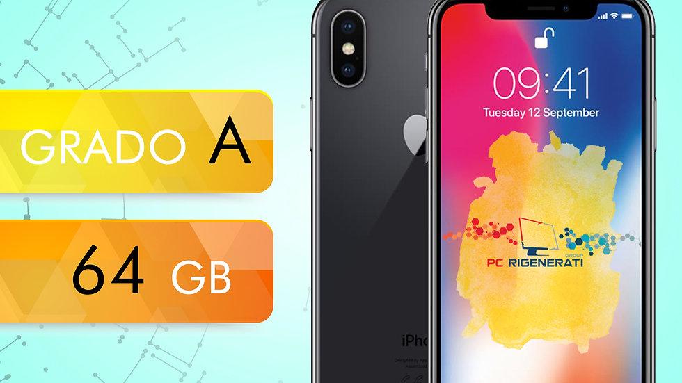 iPhone X 64 NERO Grado:A