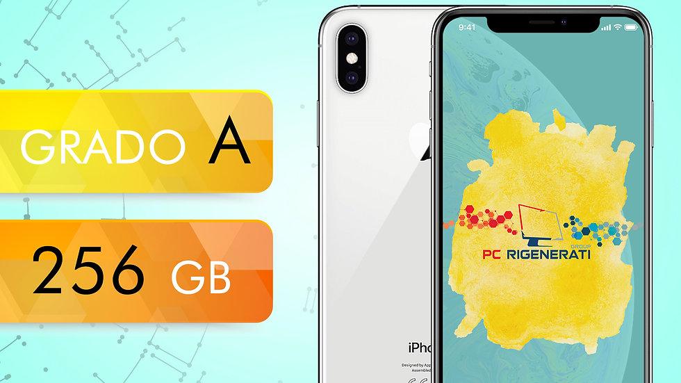 iPhone XS 256 SILVER Grado:A