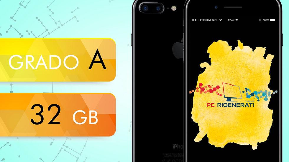 iPhone 7 PLUS 32 Nero Opaco Grado:A