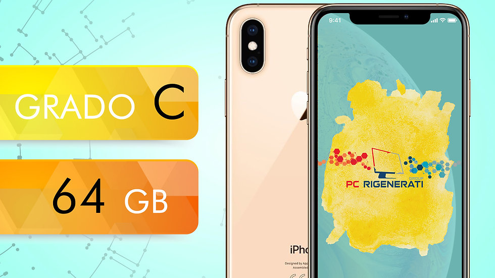 iPhone XS 64 GOLD Grado:C