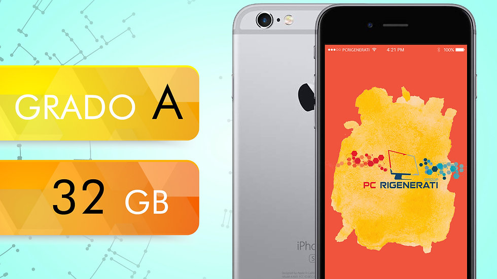 iPhone 6S 32 GRIGIO SIDERALE Grado:A