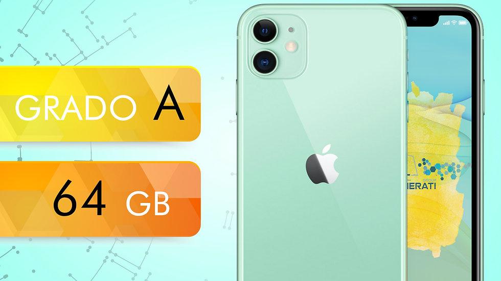 iPhone 11 64 VERDE Grado:A