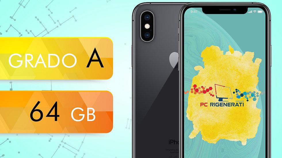 iPhone XS 64 NERO Grado:A