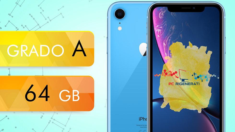 iPhone XR 64 BLU Grado:A