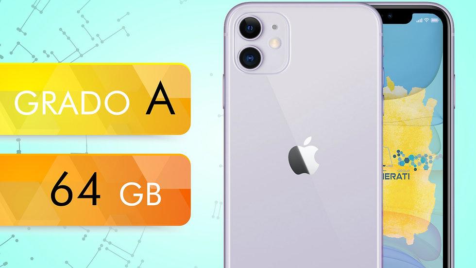 iPhone 11 64 VIOLA Grado:A