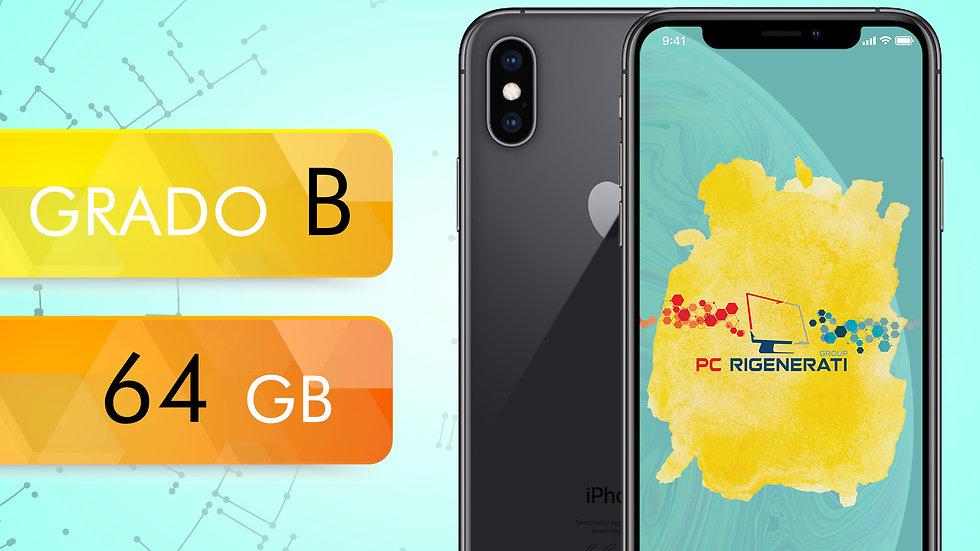 iPhone XS 64 NERO Grado:B