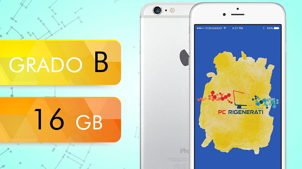 iPhone 6 16 Silver Grado: B