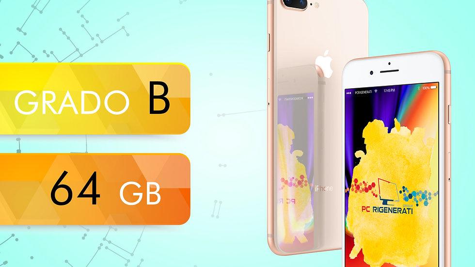 iPhone 8 PLUS 64 GOLD Grado:B