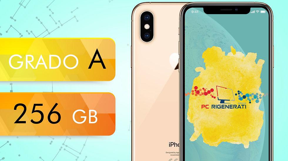 iPhone XS 256 GOLD Grado:A
