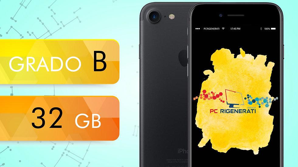 iPhone 7 32 Nero Opaco Grado:B