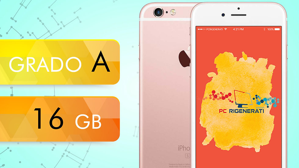 iPhone 6S 16 Rosa Gold Grado:A
