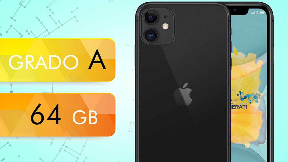 iPhone 11 64 NERO Grado:A