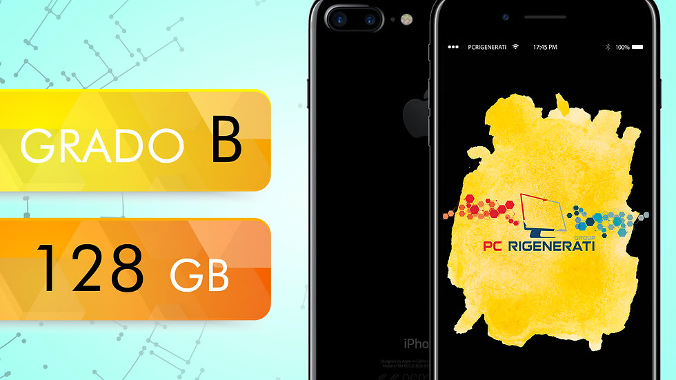 iPhone 7 PLUS 128 Nero Opaco Grado:B
