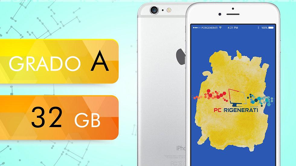 iPhone 6 32 Silver Grado:A