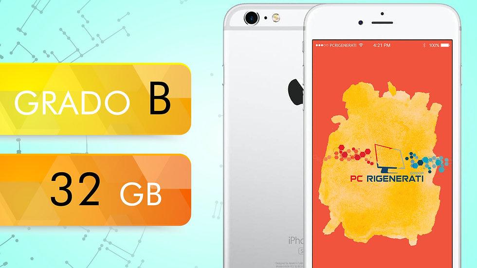 iPhone 6S 32 Silver Grado:B