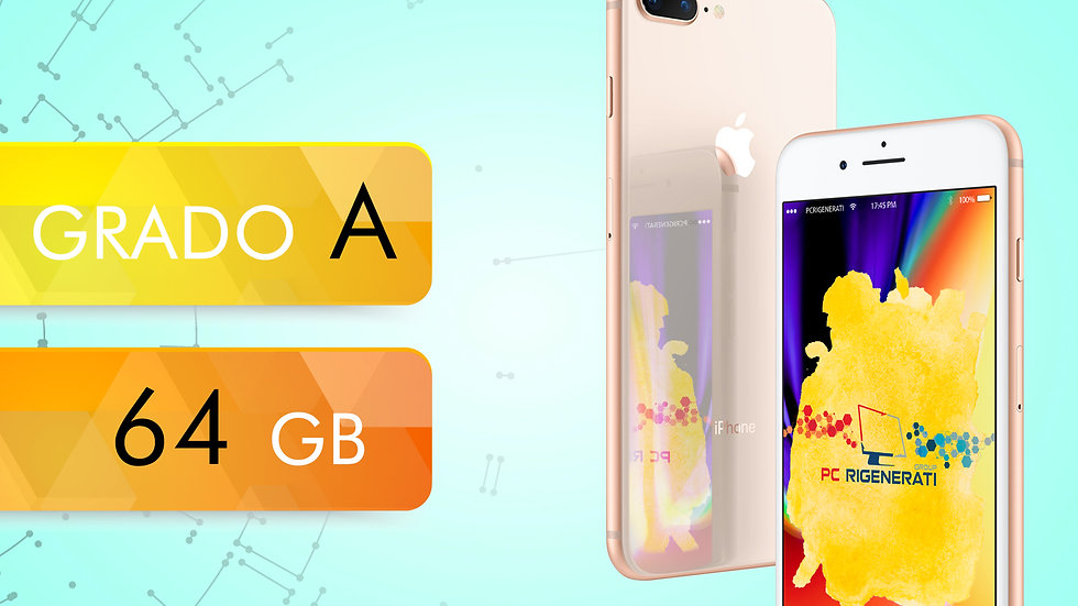 iPhone 8 PLUS 64 GOLD Grado:A