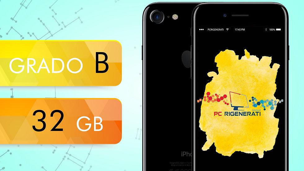 iPhone 7 32 Jet Black Grado:B