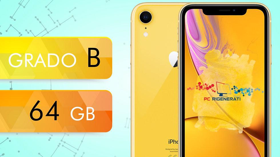 iPhone XR 64 GIALLO Grado:B