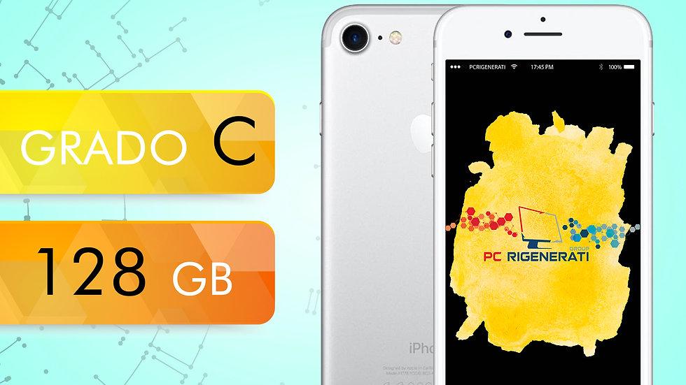 iPhone 7 128 Silver Grado:C