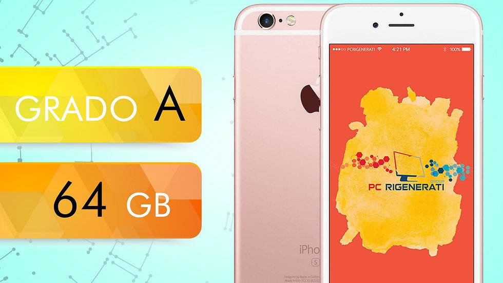 iPhone 6S 64 Rosa Gold Grado:A