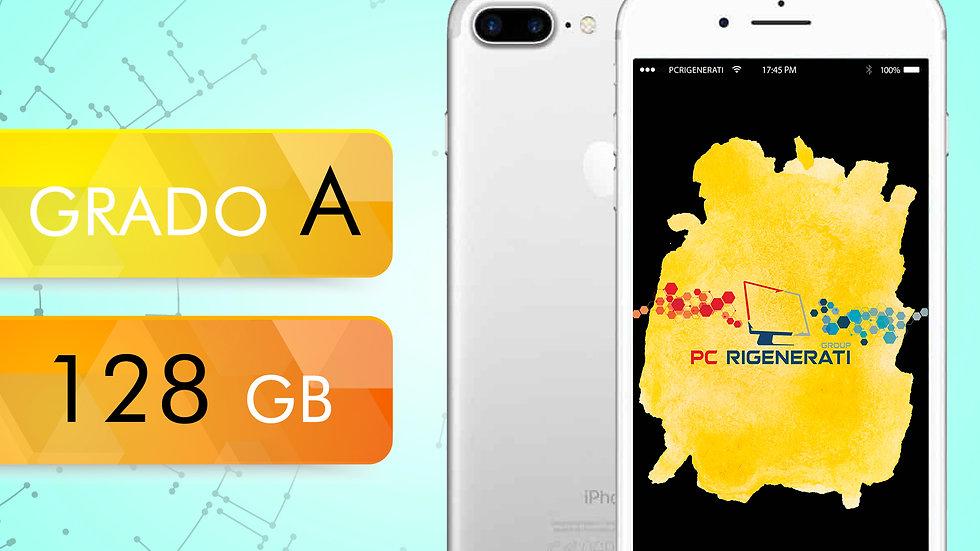 iPhone 7 PLUS 128 Silver Grado:A