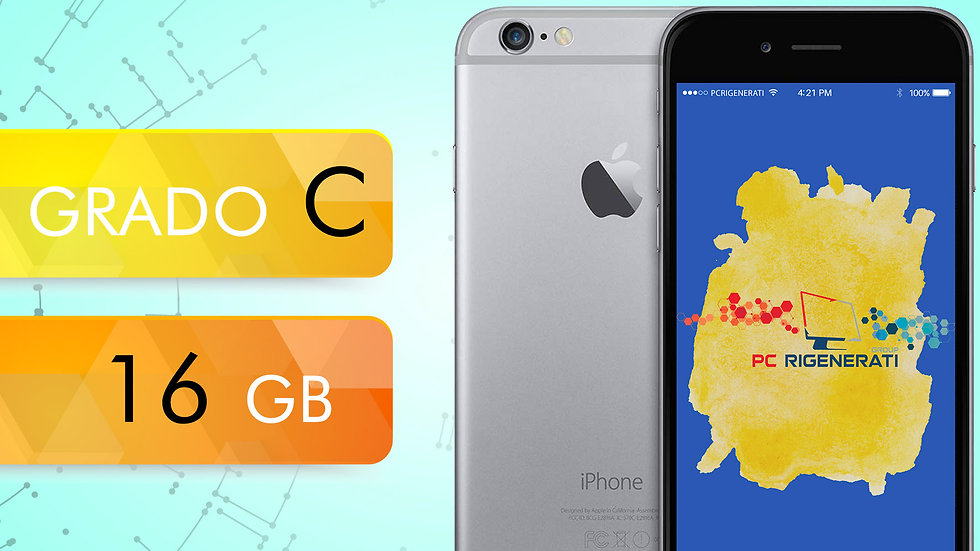 iPhone 6 16 Grigio Siderale Grado:C