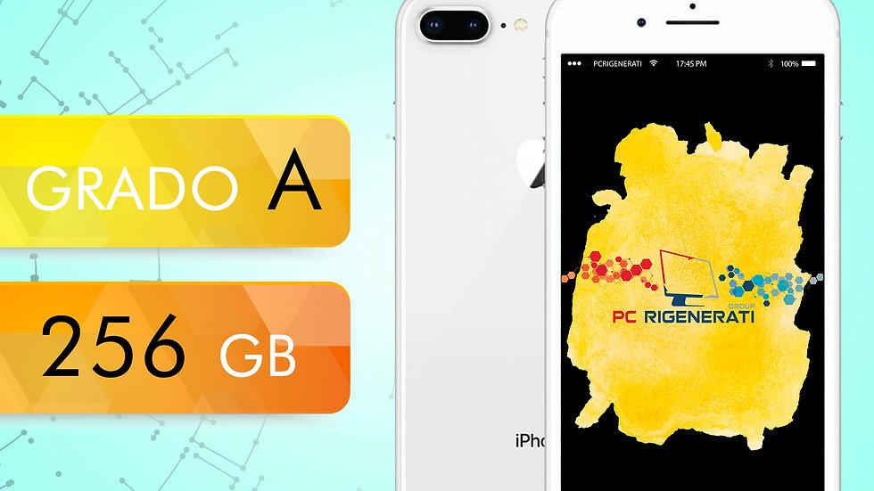 iPhone 8 PLUS 256 SILVER Grado:A
