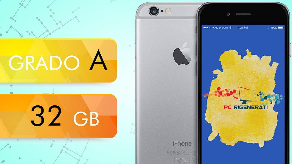 iPhone 6 32 Grigio Siderale Grado:A