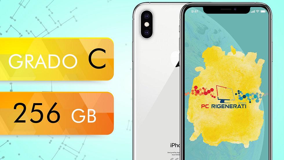 iPhone XS 256 SILVER Grado:C