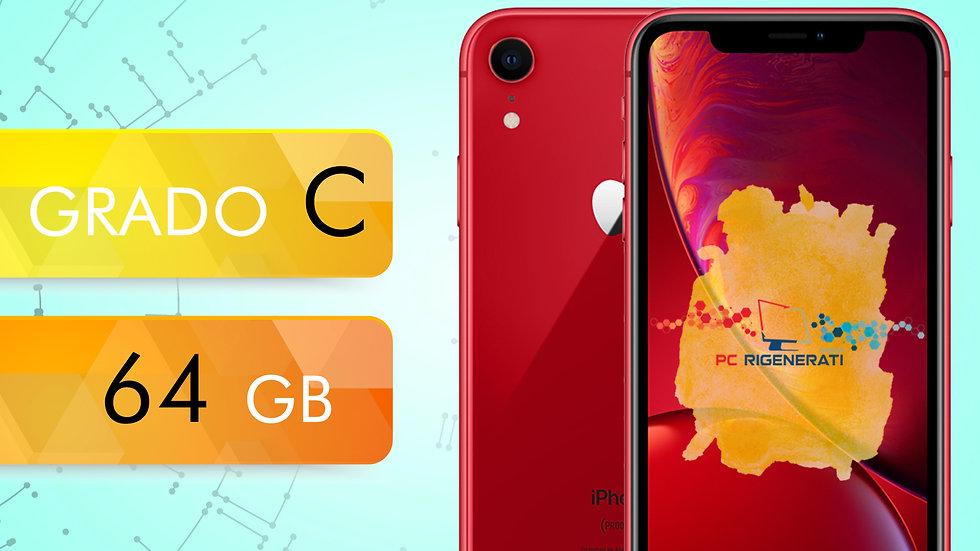 iPhone XR 64 RED ® Grado:C