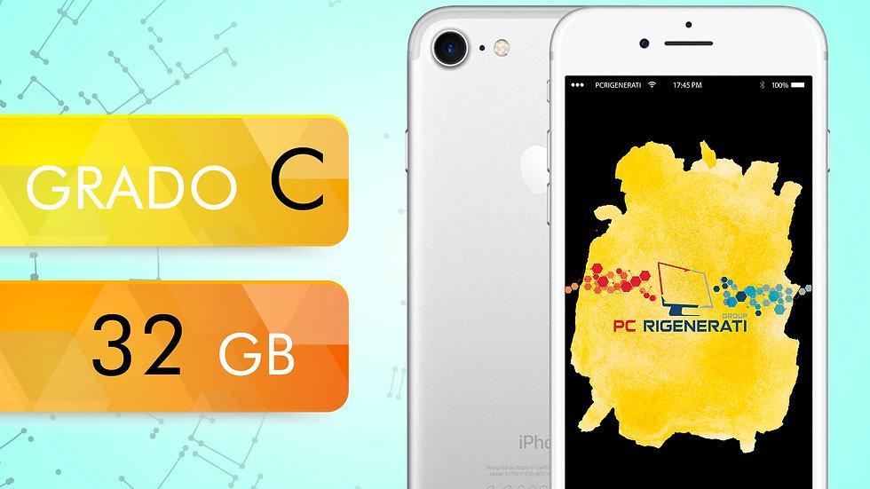 iPhone 7 32 Silver Grado:C
