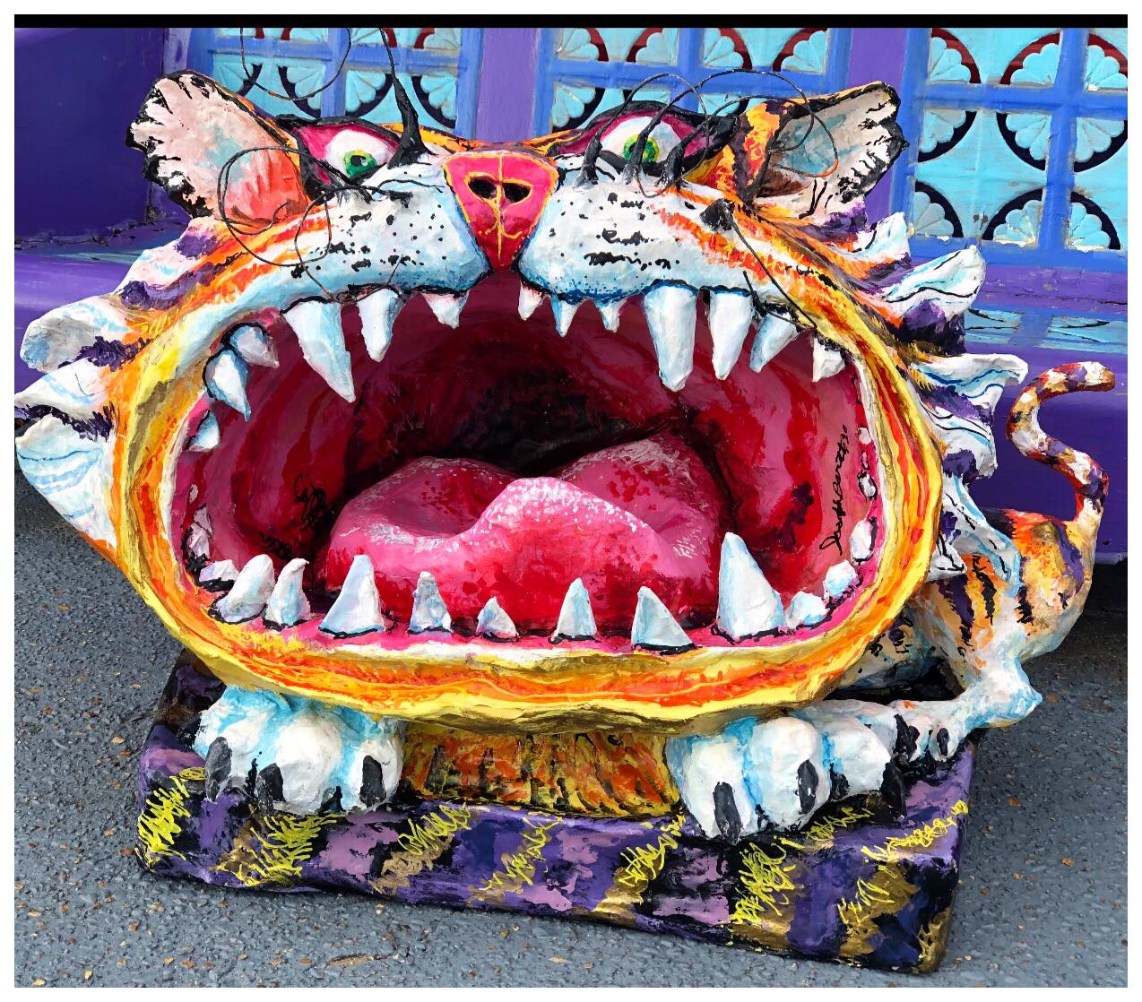 Joe Barth - Paper Mache Sculpture