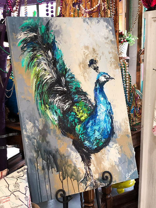 The Art of the Peacock - Original