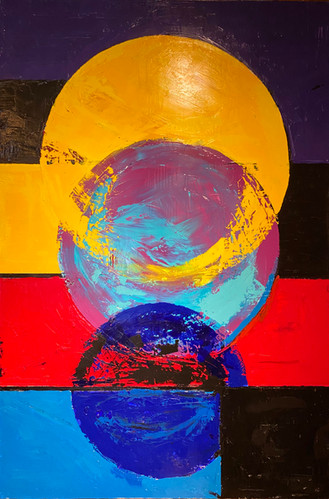 35'' x 50'' oil on canvas