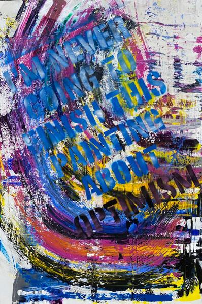 48'' x 72'' acrylic on canvas