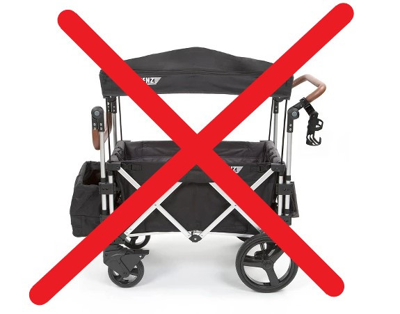 #StrollerWagons banned at #Disney #Parks