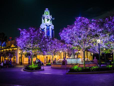 Halloween In Purple at Disney California Adventure