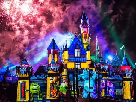 #Together #Forever a #Pixar #Fireworks #Spectacular at #Disneyland