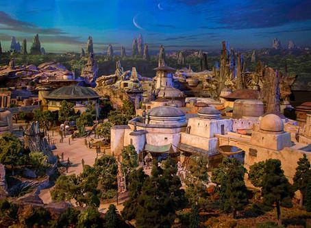 Disneyland's Galaxy's Edge Flyover
