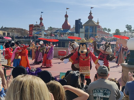Celebrating the Year of the Mouse with Mulan's Lunar New Year Processional